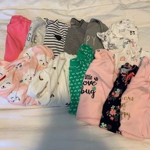 6 month tops lot